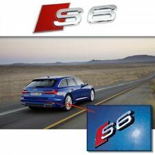 AUDI S6 Badge Emblème Autocollant Logo Chrome SLine A3 A4 A5 A6 TT RS3 RS4 Q5 Q7