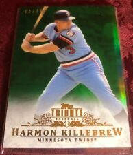 Harmon Killebrew 2013 Topps Tribute Green Refractor #d / 75, Minnesota Twins HOF