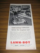 1956 Print Ad Lawn-Boy Lawn Mowers Boats,Evinrude Outboard Motor