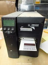Zebra ZM400 ZM400-200E-0000T Thermal Barcode Label Printer USB POS 3,447,934 INC
