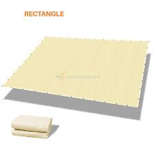 Customize 6' Solid Straight Edge Hemmed Sun Shade Sail Canopy Shade Cloth 220Gsm