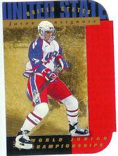 1994-95 UD Upper Deck SP Die-Cut #173 Jason Bonsignore Center Team USA