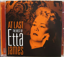 ETTA JAMES CD At Last The BEST OF Etta James 16 Track Cry Me A River My Funny Va