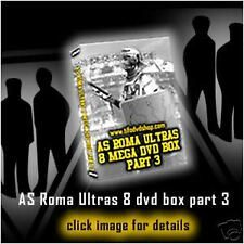 8 DVD BOX AS ROMA ULTRAS PART 3(boys,fedayn,giovinezza)