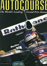 AUTOCOURSE  1997- 1998. The F1 annual. New condition.