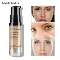 SACE LADY 8 Colors Liquid Concealer Makeup 6ml Eye Dark Circles Cream Cosmetic