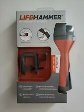 Life Hammer Evolution Safety Hammer- Breaks Car Glass, Cuts Seat Belts *NEW*