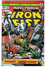 MARVEL PREMIERE #21 (NM-) IRON FIST! 1st MISTY KNIGHT! Netflix Show DEFENDERS