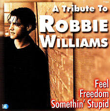A Homenaje To ROBBIE WILLIAMS CD 18 Tracks nuevo y emb. orig.