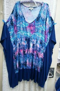 Gorgeous AUTOGRAPH stretch Kaftan Top in size 24