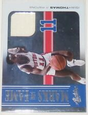 2010/11 Isiah Thomas Panini Absolute Marks of Fame Jersey Card #4 Ser #48/49 NM