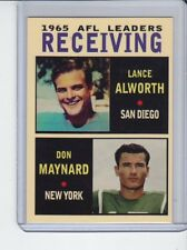 Lance Alworth/Don Maynard '65 AFL Receiving Leaders rare MC Glory Days #4