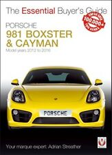 Porsche 981 Boxster & Cayman Model years 2012 to 2016 book paper car