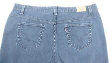 Levi's 515 boot cut women's jeans dark blue plus size 24M