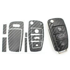 Carbon Clé Film Audi B Housse clés de voiture Clé Housse Clé