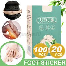 20/100 Pcs Fusspflaster Entgiftung Wermut Fuß Vitalpflaster Entschlackung Detox