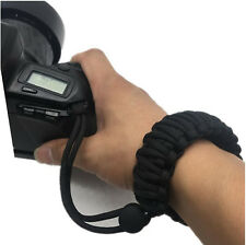 Braided 550 Adjustable Camera Wrist Strap for Fujifilm Finepix S700 S-700