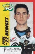 2001-02 Prince Albert Raiders #7 Paul Deniset