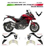 Kit adesivi Mission Winnow - Ducati Multistrada 950 fino al 2018 def bassi