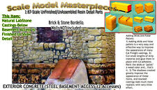 BASEMENT ACCESS-EXTERIOR CONCRETE  Scale Model Masterpieces Yorke Fine Craftsman