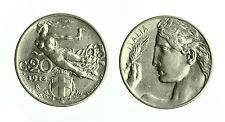 pcc1562_10) Vittorio Emanuele III  (1901-1943) 20 Cent Libertà Librata 1912