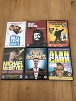 6 Stand Up Comedy Dvds Various Stand Up Films