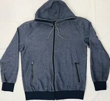 994a71b9 Galaxy by Harvic Mens Blue Long Sleeved Zip Up Hoodie. Size: XXL NWT!