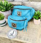Pommel Bag Leather Handmade, Saddle Sak,Pommel Pocket,Teal LG, Trail Bag