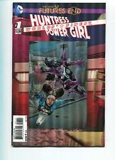 WORLD'S FINEST HUNTRESS POWER GIRL FUTURE'S END #1 - 3D COVER - DC COMICS - 2014