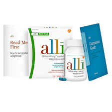 Alli Orlistat 60 mg. Weight Loss Aid, 170 Capsules, NEW, SEALED, Free Shipping