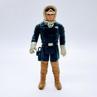 Vintage 1980 Star Wars HOTH Han Solo Empire Strikes Back Rebel Action Figure