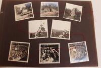 Lot original Fotos WWI 1. Wk Westfront Ehrenmal Bunker Schützengraben Militär