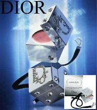 100% AUTHENTIC Ltd Edition DIOR PLAY SWAROVSKI DIAMOND JEWEL MAKEUP DICE CHARM
