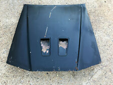 1987 1988 Ford Thunderbird Turbo Coupe Hood BLACK W/SCOOPS AND DUCT