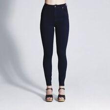 High Waist Regular Size Erinsed, Indigo Jeans for Women