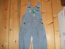 Vintage Liberty Union Made Railroad Blue Striped Overalls Baby Boys Or Girls