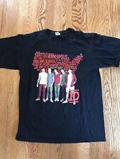 1D One Direction Us Concert Tour Shirt Medium