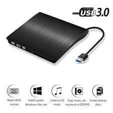 USB External DVD CD ROM Disc Burner Drive Reader for Windows 07/ 08 /10 Laptop
