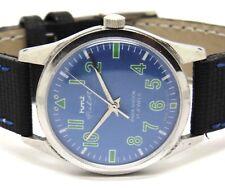HMT genuine Pilot hand winding men steel vintage watch run order B1