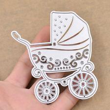 Baby Stroller Carriage Cutting Dies Stencil DIY Scrapbook Card Album Embossing