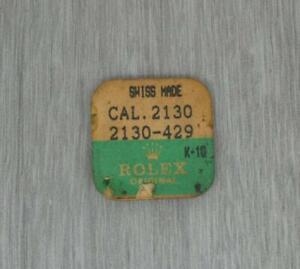 One Genuine original Rolex 2130 429 Balance Staff NEW/OPENED,PART