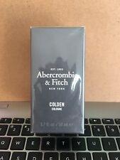 ONE NEW Abercrombie & Fitch Colden 1.7oz Men's Eau de Cologne Sealed