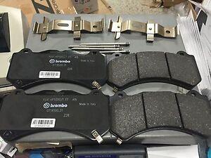 OEM GM Brembo 6 Piston CTS-V Front Brake Pads w/ Pin Kit ZL1 ATS-V