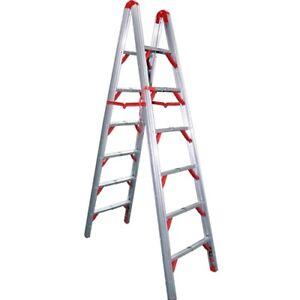 TeleSteps 700FLD 7'  Folding Step Ladder-Double Sided