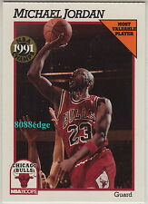 "1991-92 HOOPS ""NBA CHAMPS"" MVP CARD: MICHAEL JORDAN #NNO RARE ""ODD-HARD TO FIND"""