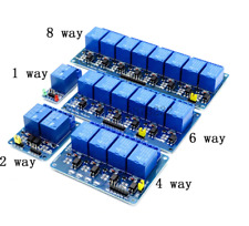 -modul Relais 5v/12v 1,2, 4,6, 8 Kanal Optokoppler Arduino