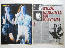 Baccara Maria Mayte Bernd Cluver clippings Germany German 1970s