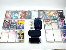 Sony PSP 1000 Value Pack Black Handheld System With Games and Movies