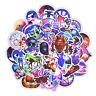 50pcs Mixed Galaxy Sticker Stars Dream Anime Cartoon Stickers for DIY Luggage