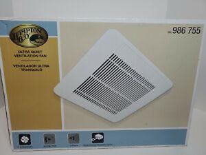 HAMPTON BAY Ultra Quiet Ventilation Fan 986 755 (50 CFM)